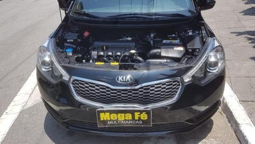 kia cerato ex3 1.6 flex automático completo preto 2014