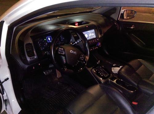 kia forte sx 2017  automático , qc, piel,cámara de reversa