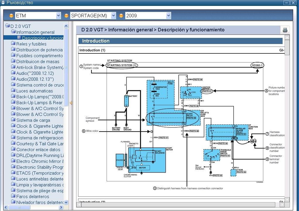 Kia Gds Diagramas Electricos Kia