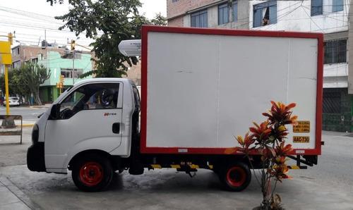 kia k2700 2014 furgon frigorifico thermo king