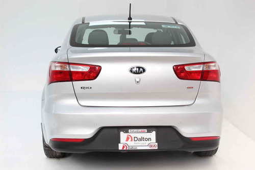 kia kia rio sedan 2017 4 pts. ex, tm6, ve, f niebla r-15