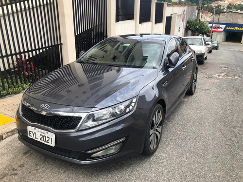 kia optima 2011 2.0 gasolina central multimídia câmera ré