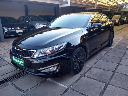 kia optima ex 2.4 at 2013 preta gasolina