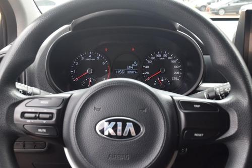 kia picanto 2018 motor 1.0 - 5 puertas color gris