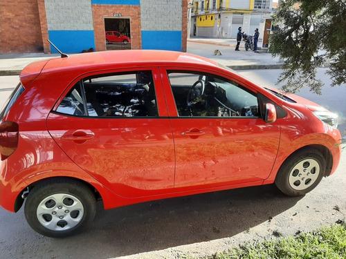 kia picanto 2020, motor 1.0 5 puertas. color rojo