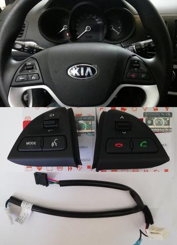 kia picanto ion mandos timón radio originales kia 2012-2013