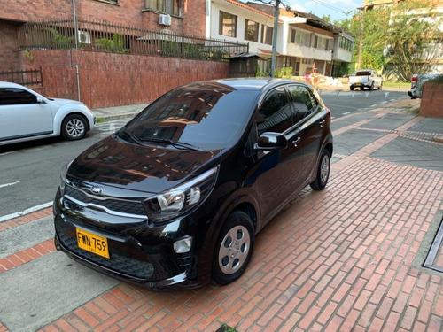kia picanto vibrant 1250cc negro  2019
