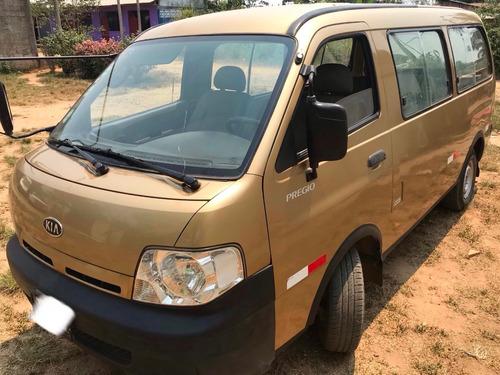 kia pregio combi 2004 minivan de uso familiar