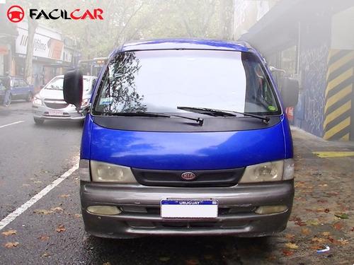 kia pregio minibus 1999 diesel