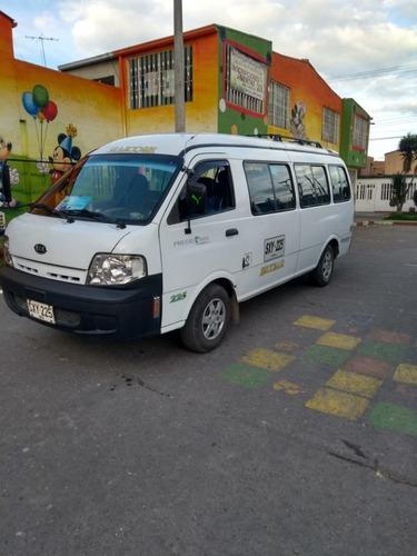 kia pregio modelo 2011 de 19 pasajeros