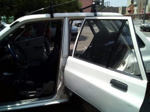 kia pride 1997 blanco 5 puertas