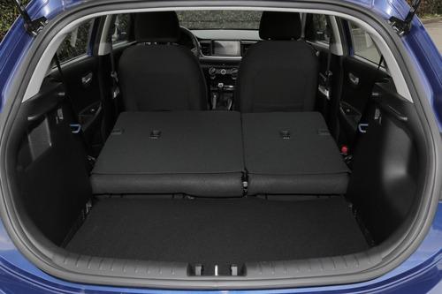 kia rio 2019 hatchback mecánico azul cali