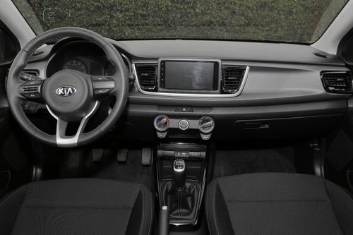 kia rio 2020 hatchback azul mecánico nuevo medellín