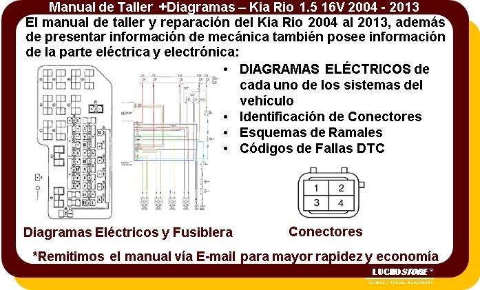 Kia Rio Manual Taller Reparacion 1 5 02