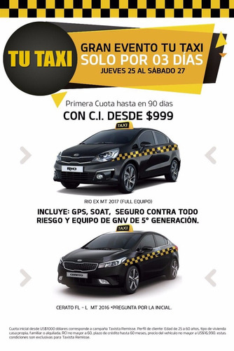 kia rio  taxista ideal  993880053