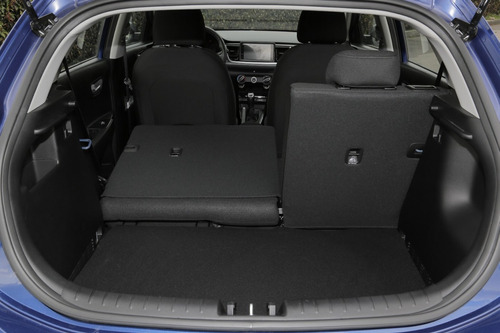 kia rio vibrant 2020 hatchback mecánico azul cali