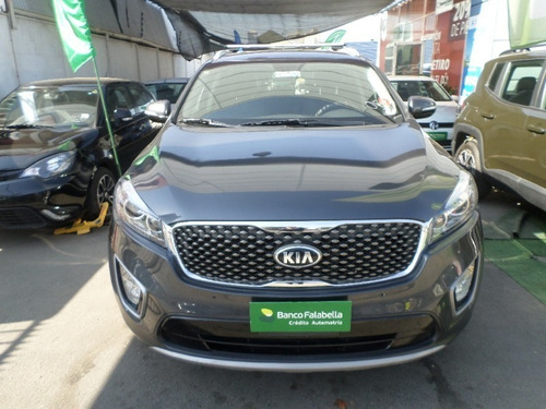 kia sorento 2017 2.2 dsl ex at gris