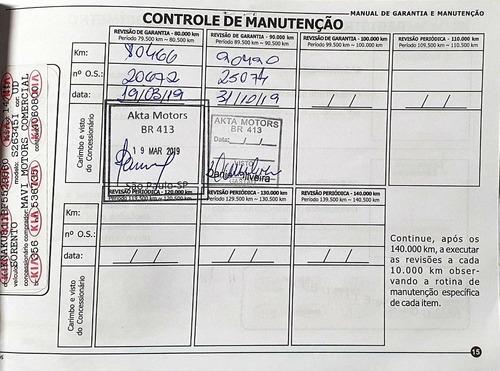kia sorento 2.4 ex automático revisada em concessionária