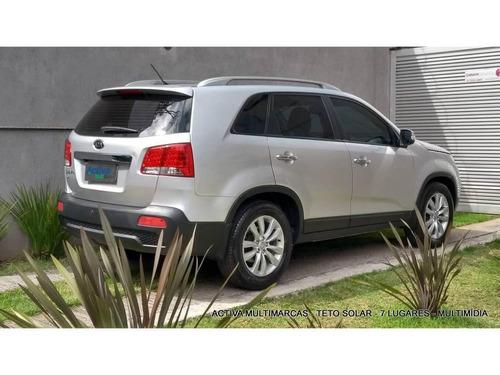 kia sorento 2.4 ex2 4x2 16v gasolina 4p 7 lugares automático