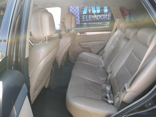 kia sorento ex 2.4 automático bancos em couro completo 2012