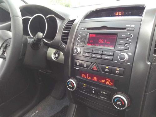 kia sorento ex2 2.4 2011 cinza top de linha+ teto (7 lug.)