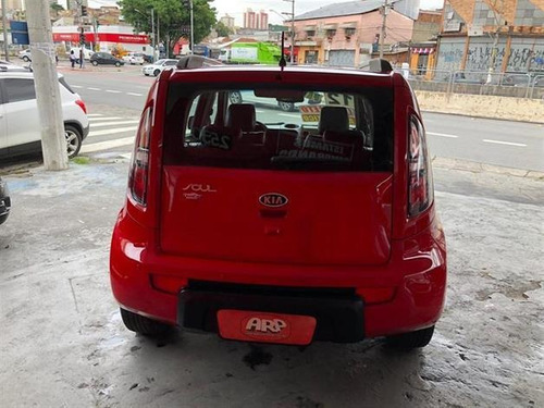 kia soul  1.6 16v  2012 vermelho flex automático