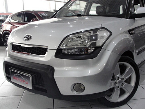 kia soul 1.6 ex aut. 2011 completo + couro + rodas