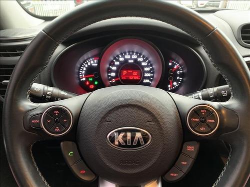 kia soul 1.6 ex automático 2017 (garantia de fábrica)