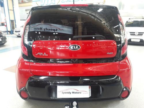 kia soul 1.6 ex flex automático 2017 raridade - baixa km!