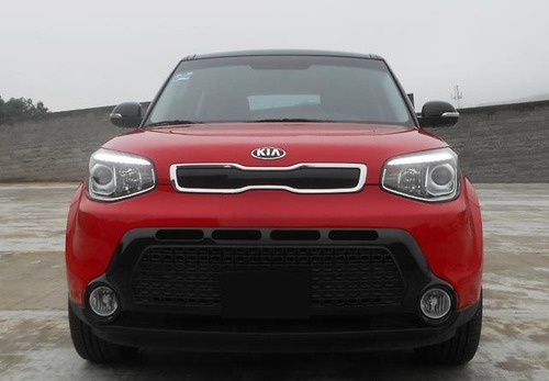 kia soul 2.0 ex at 2016 rojo