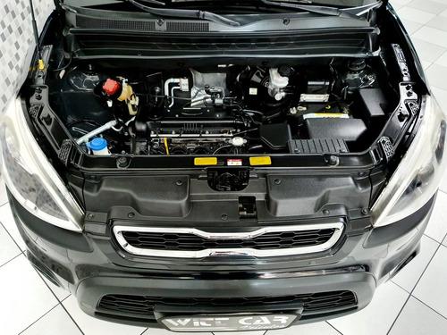 kia soul ex 1.6 16v flex 2012 preto automático