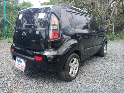 kia soul motor 1.6 2011 negro 5 puertas