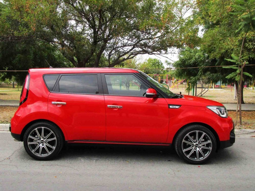 kia soul sx turbo 2019 color rojo