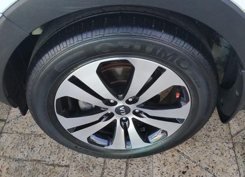 kia sportage 2.0 ex 4x2 flex aut teto+roda 18+multimídia