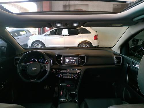 kia sportage 2.0 ex  flex aut teto+roda 18+multimídia