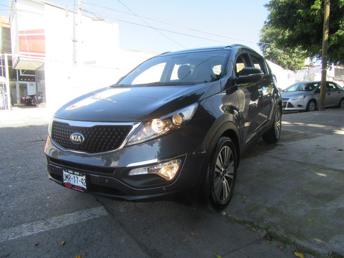 kia sportage 2016 ex pack at qc grafito