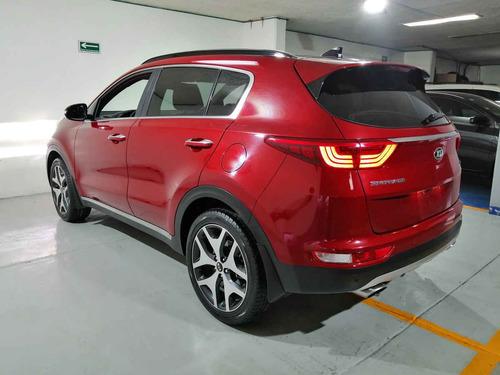 kia sportage 2017 5p sxl l4/2.4 aut
