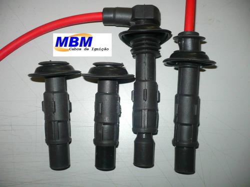 kia sportage - cabos de velas+terminais bobinas especiais