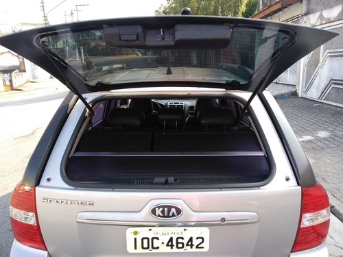 kia sportage lx 2.0 automática+couro  completa top de linha