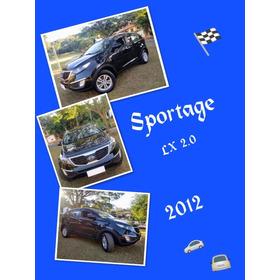 Kia Sportage Lx 2.0 Cambio Manual,  2012, Ipva 2020 Pago