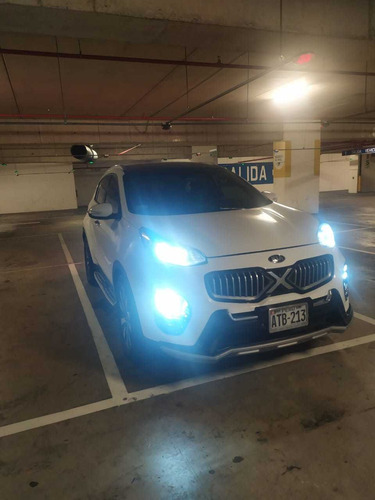 kia sportage motor 2.0 2016 blanco 5 puertas full automático