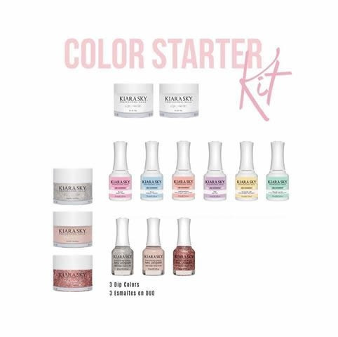 kiara sky dip starter kits color starter kit