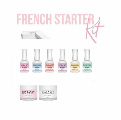 kiara sky dip starter kits french starter kit