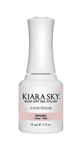 kiara sky  gel polish exposed g603