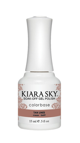 kiara sky  gel polish tan lines g609