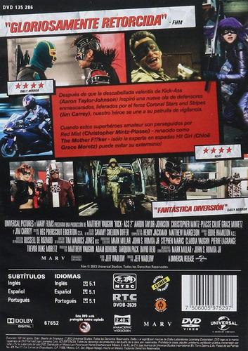 kick - ass 2 dos aaron johnson pelicula dvd