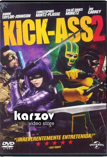kick - ass 2 dos la pelicula en dvd