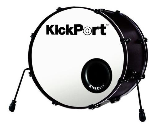 kick port para bumbo de 16 a 28 kp1 preto kicport original