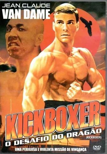 Kickboxer O Desafio Do Dragão Dvd Original Novo Van Damme - R$ 24 ...