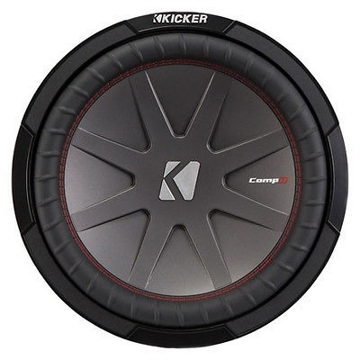 kicker 12-inch 1000 watts 4 ohm estéreo subwoofer audio coc